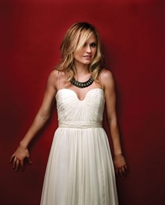 Anna Paquin wallpaper with a dinner dress and a gown titled Black Book Photoshoot