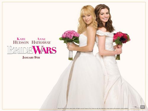 Bride Wars wallpaper possibly containing a bridesmaid entitled Bride Wars Wallpaper