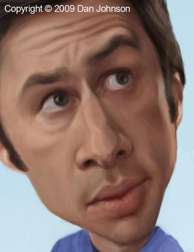 Caricature of Zach