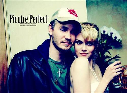 Chad and Hilarie wallpaper probably with a portrait called Chad and Hilarie