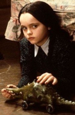 Addams Family wallpaper titled Christina Ricci as Wednesday