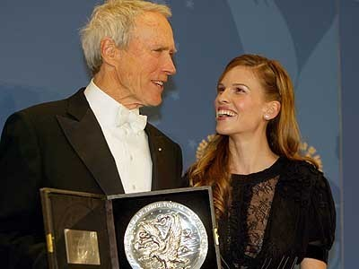 Clint Eastwood&Hilary Swank