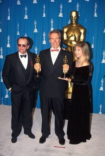 Clint Eastwood, Jack Nicholson & Barbra Streisand - 1994 Academy Awards