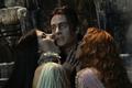 Dracula in busje, van Helsing