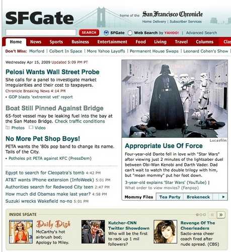 Fanpop Link on Sfgate