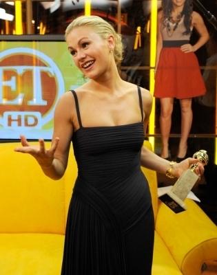 Golden Globes 2009: Backstage with ET