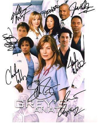 Grey's سٹار, ستارہ signatures