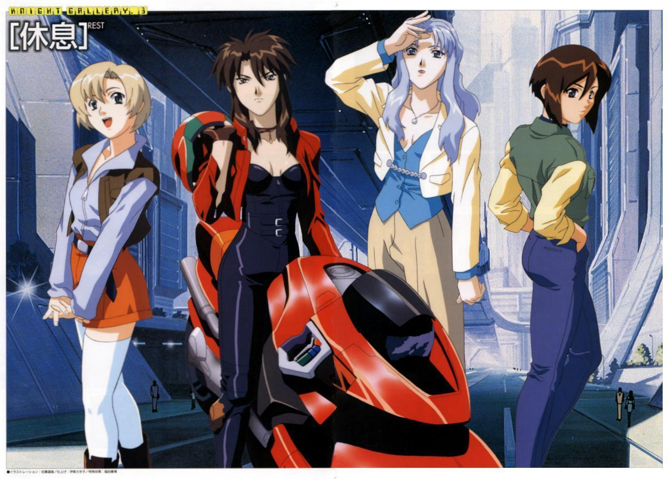 Bubblegum Crisis images Group HD wallpaper and background photos ...