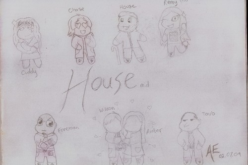 House m.d. ~ Cartoon Style!
