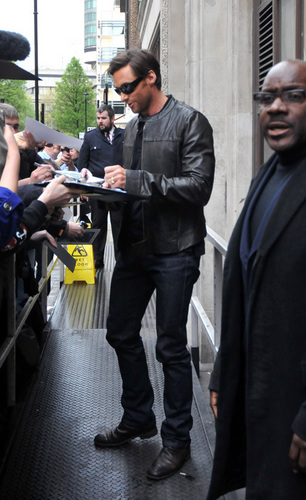 Hugh in Londra