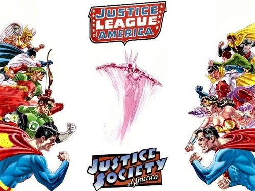 JLA VS JSA earth 2