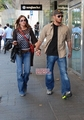 Jensen and Danneel in Sydney (April 17)