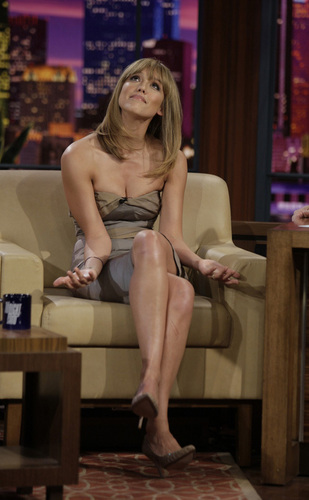 Jessica Alba on The Tonight montrer with geai, jay Leno