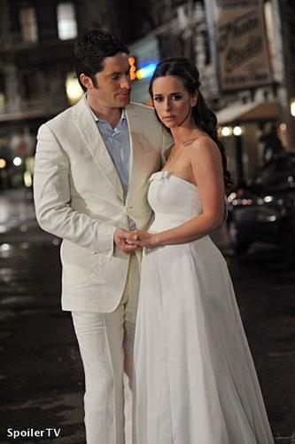 Jim and Melindas detik Wedding ( Book of Changes Promo pics)