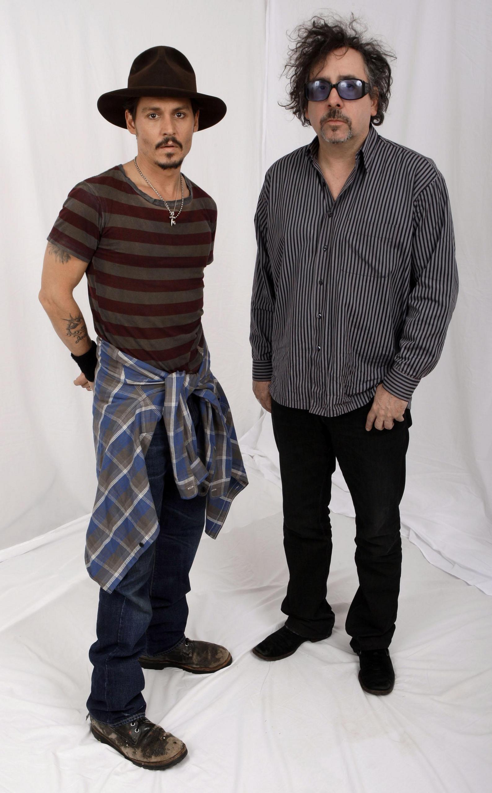 Johnny Depp Tim Burton