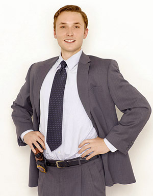 The Unusuals wallpaper with a business suit, a suit, and a double breasted suit called Josh Close as Detective Henry Cole