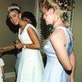 Kate getting ready 1st Wedding