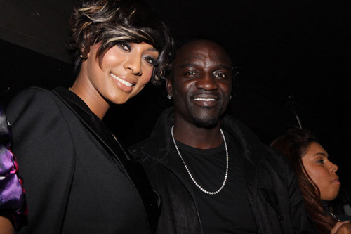 Keri Hilson kertas dinding called Keri and Akon