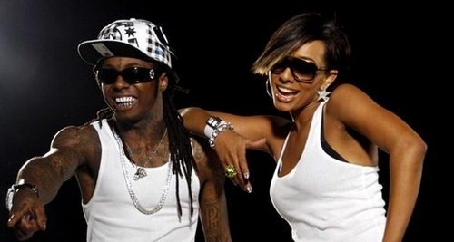 Keri Hilson wallpaper entitled Keri and Lil Wayne