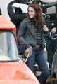 Kristen behind the scenes of New Moon - twilight-series photo