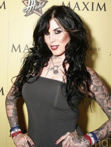 LA Ink wallpaper containing a bustier, bustiê titled LA INK Premiere Party hosted por TLC and MAXIM Magazine