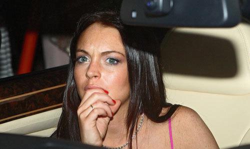 Lindsay With Black Hair