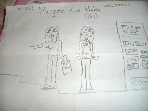 Maggie and Hayley