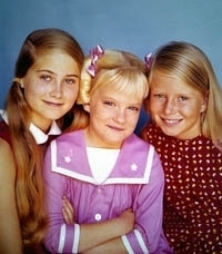 Marcia, Jan and Cindy Brady