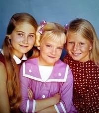 Marcia, Jan and Cindy Brady