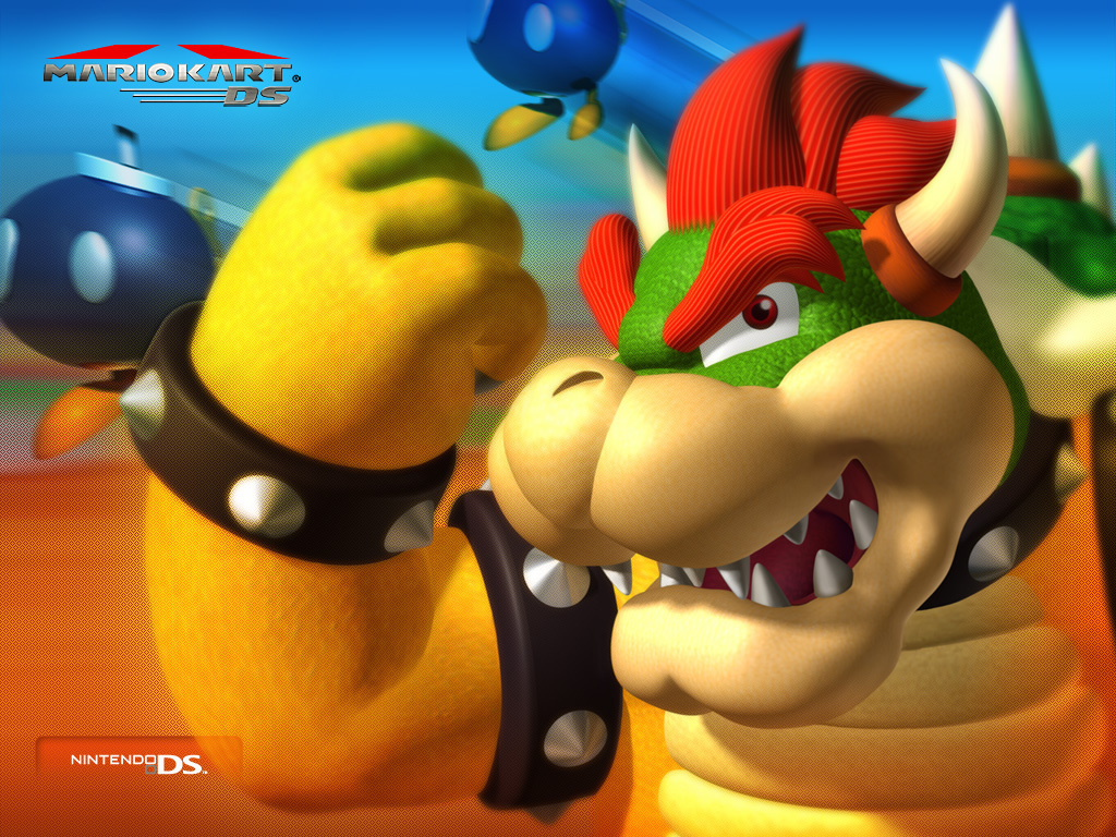 Bowser Images Mario Kart Ds Hd Wallpaper And Background Photos 5614303