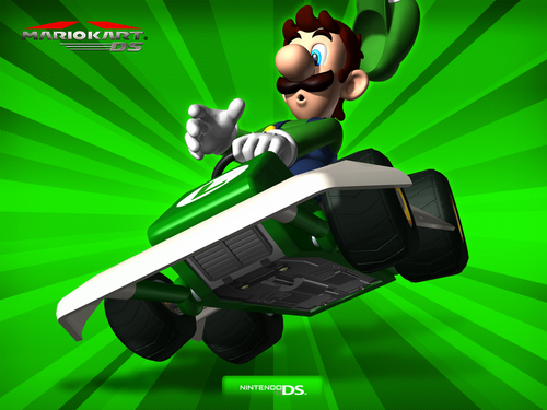 how to play as luigi in super mario bros ds