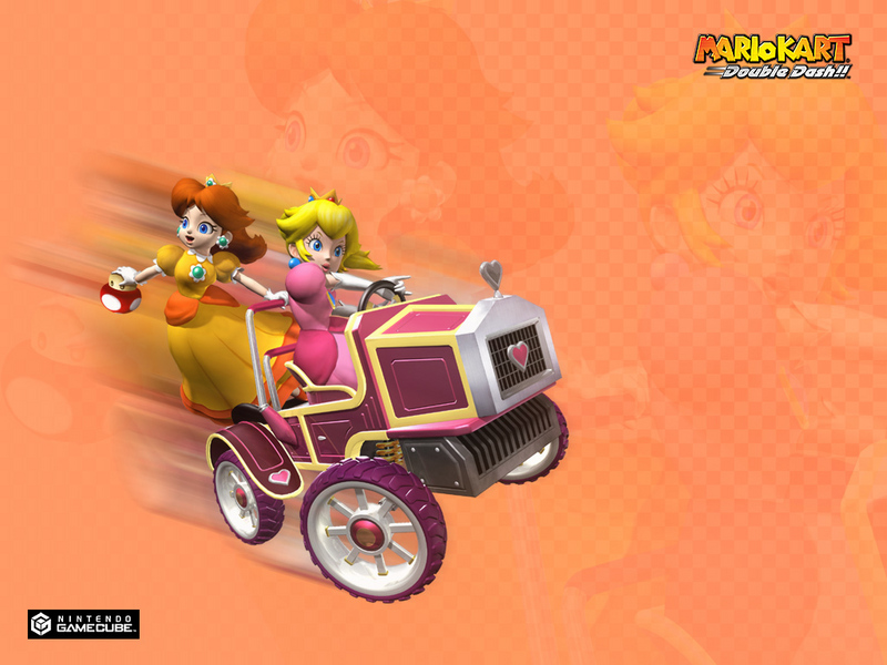 princess peach mario kart. Mario Kart Double Dash