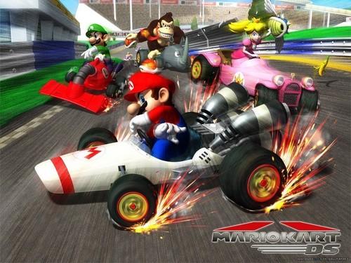 Mario Kart Wallpaper