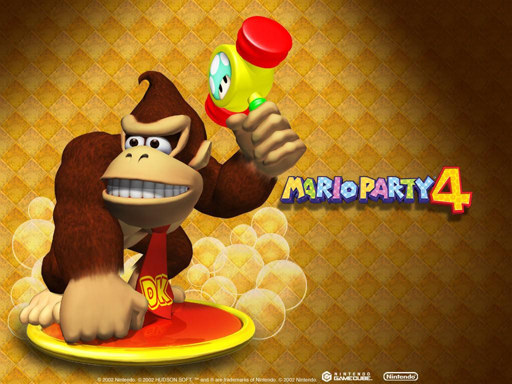 Mario Party 4 Dk Donkey Kong Wallpaper 5611558 Fanpop