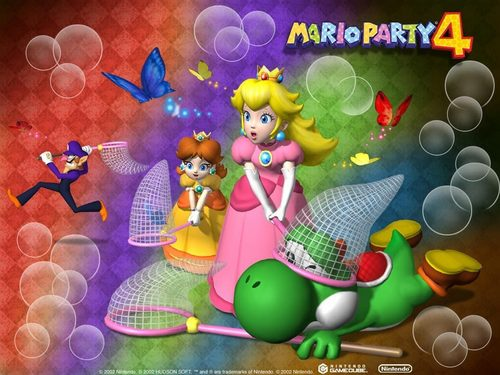 Princess Peach wallpaper titled Mario Party 4