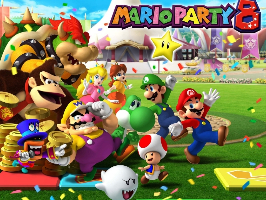 Mario Party 8 - Mario Party Wallpaper (5612632) - Fanpop