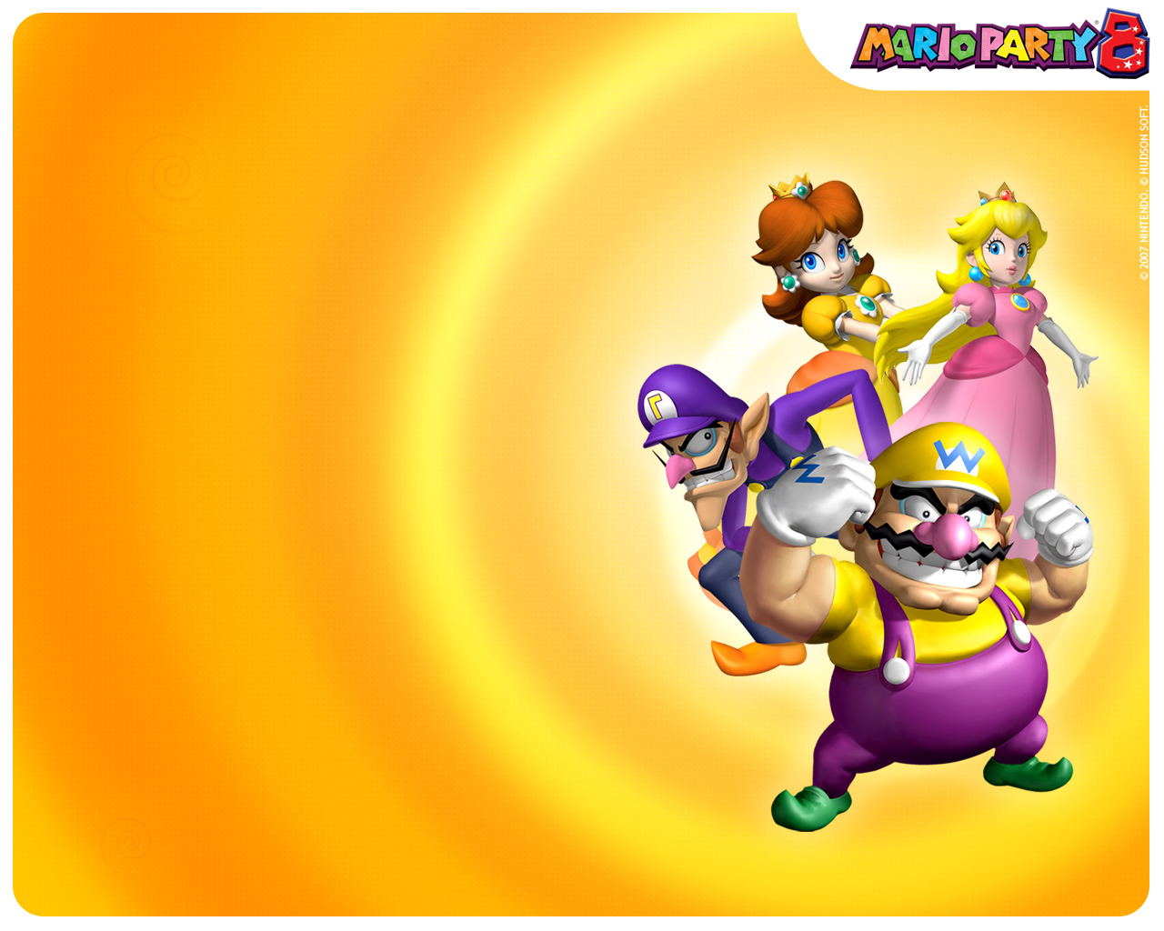 Mario Party Mario Party 8Wario And Waluigi Wallpaper