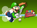 Mario Super Sluggers - luigi wallpaper