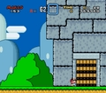 Mario's &quot;Aw, crap&quot; moment - super-mario-world screencap