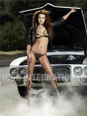 Danneel Harris Hintergrund possibly containing a bikini, a swimsuit, and skin titled Maxim Photoshoot March 2008 <3