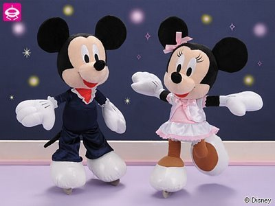 Mickey and Minnie Stuffed Toys