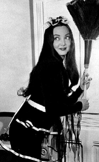 Morticia Addams from TV Show