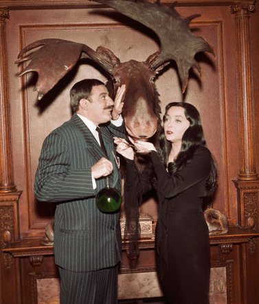 The original Addam's Family set Photographed in Color : pics