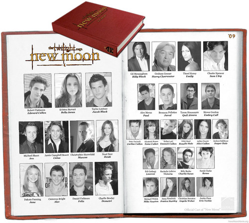 New Moon Cast 年 Book