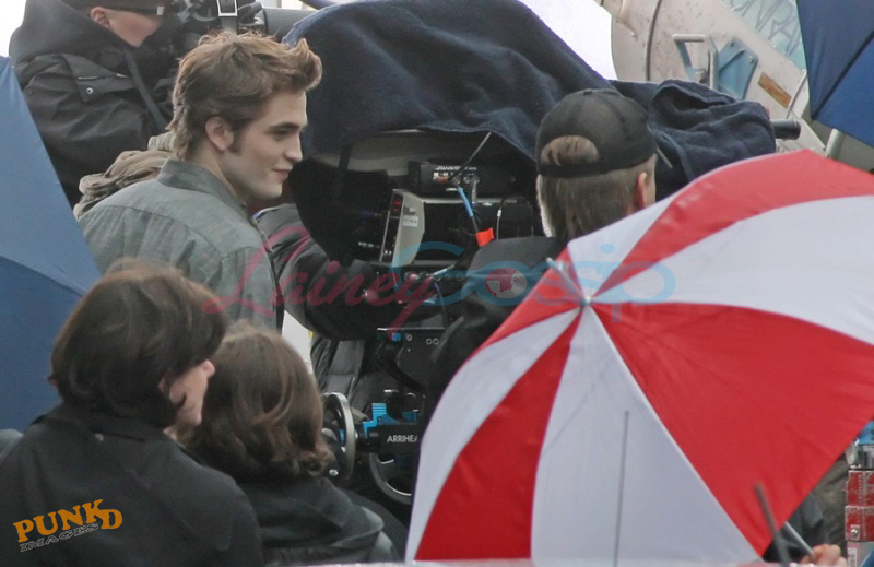 New Moon Filming