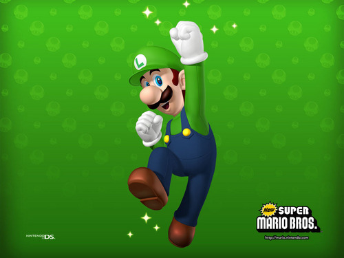 Luigi wallpaper entitled New Super Mario Brothers