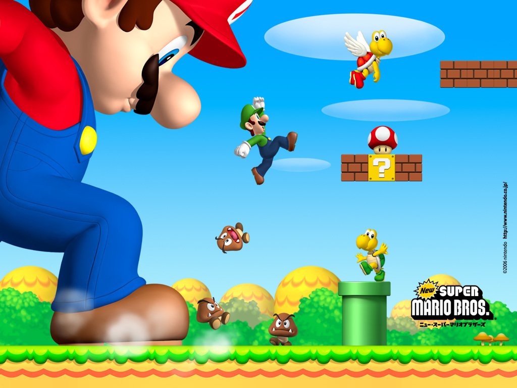 Super Mario Bros. New Super Mario Brothers