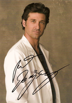 Patrick's sigature - dr-derek-shepherd Photo