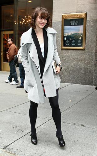Rachel McAdams promoting in NYC