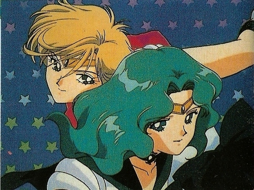 Sailor Neptune and Uranus